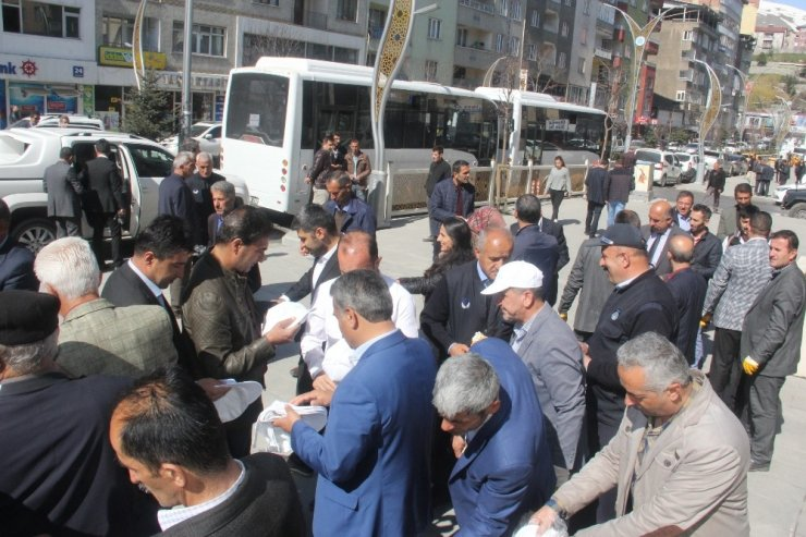 Hakkari'de temizlik kampanyası