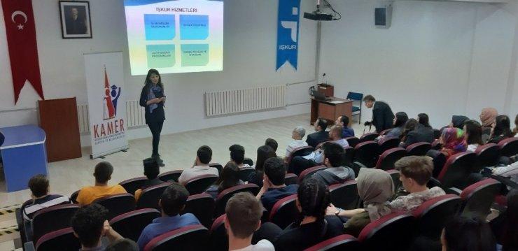 Hisarcık MYO'da kariyer eğitimi