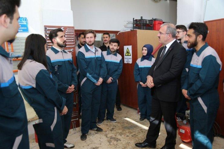Vali Ömer Toraman DPÜ'yü ziyaret etti