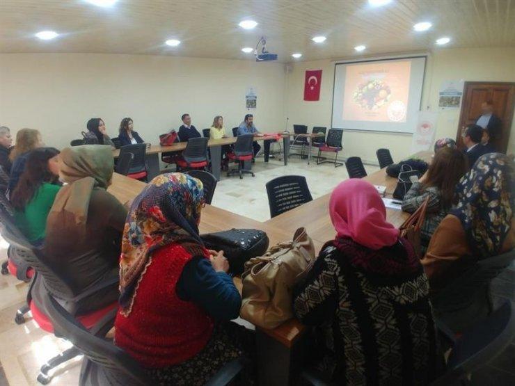 Mersin'de 40 kadın çiftçi alıç yetiştirmeyi öğrenecek