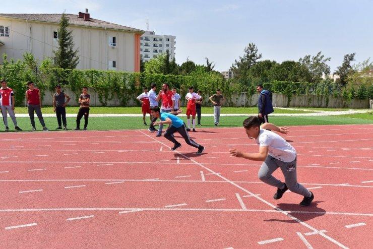 Osmaniye'de sporcu eğitim merkezi için seçme yapıldı