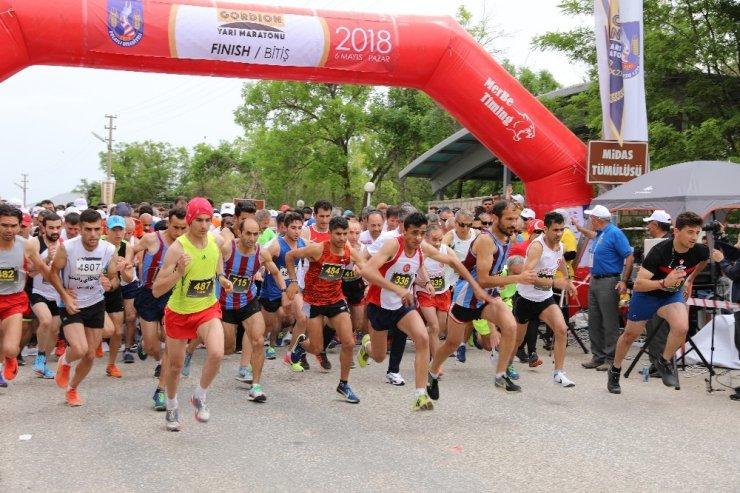 Polatlı'da 2. Uluslararası Gordion Yarı Maratonu