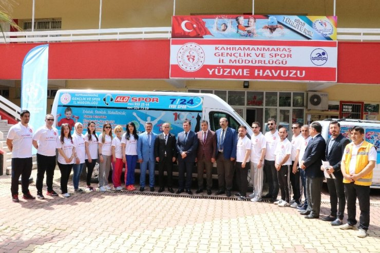 "Kahramanmaraş'ta ""Alo Spor"" hizmete girdi"