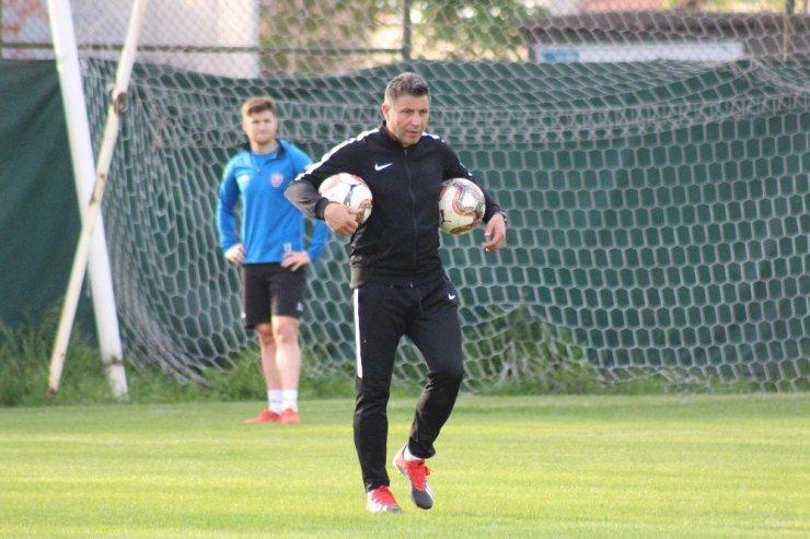 Karabükspor'da İstanbulspor maçı hazırlıkları başladı