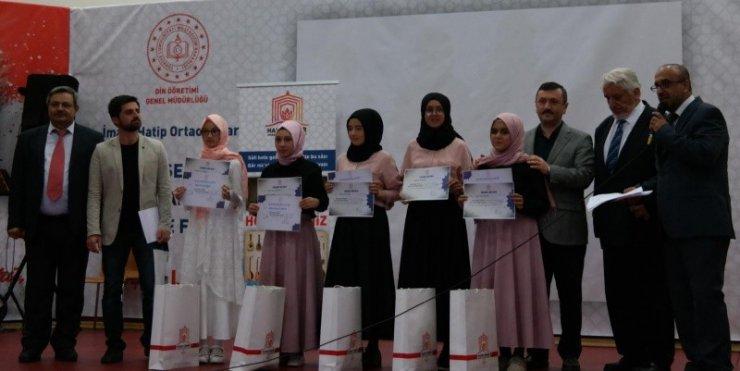 Mehmet Akif Ersoy İmam Hatip Ortaokulu, Türkiye üçüncüsü oldu