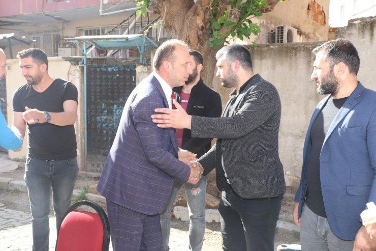 Başkan Akın genç sporcularla buluştu