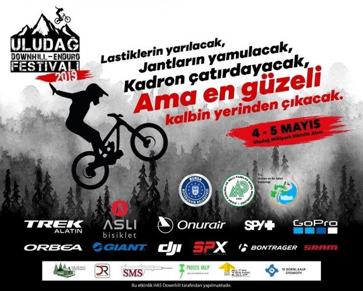 Uludağ'da dağ bisikleti heyecanı başlıyor