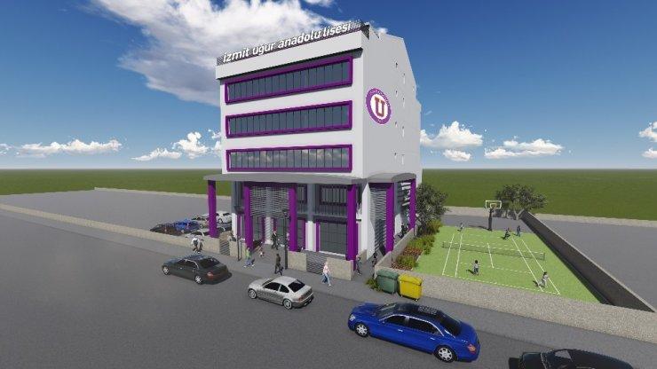 480 öğrenci kapasiteli İzmit Uğur Anadolu Lisesi açılıyor