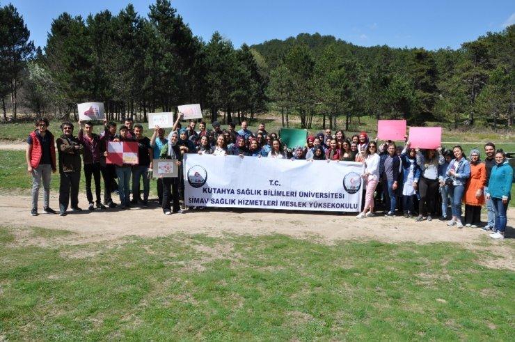 Öğrencilerden 'sıfır atık' projesine destek