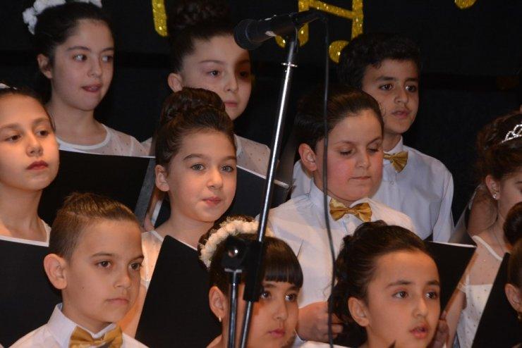 Çözüm Koleji 4. sınıf öğrencileri konser verdi
