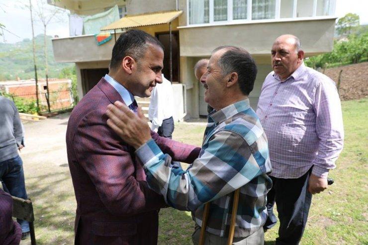 Başkan Kibar, mağdur vatandaşların yanında