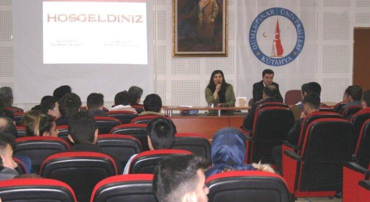 KTBMYO'da İtfaiyecilik ve Yangın Güvenlik Çözümleri konferansı