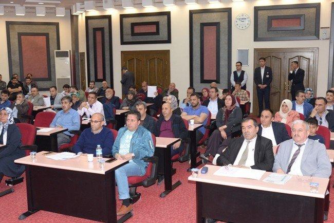 """Melikgazi Belediye Başkanı Dr. Mustafa Palancıoğlu, """"Melikgazi'de 60 daire, 5 işyeri; şeffaf bir ihale ile satışa sunuldu"""""""