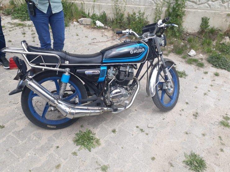 Çalınan motosikletler polis tarafından bulundu