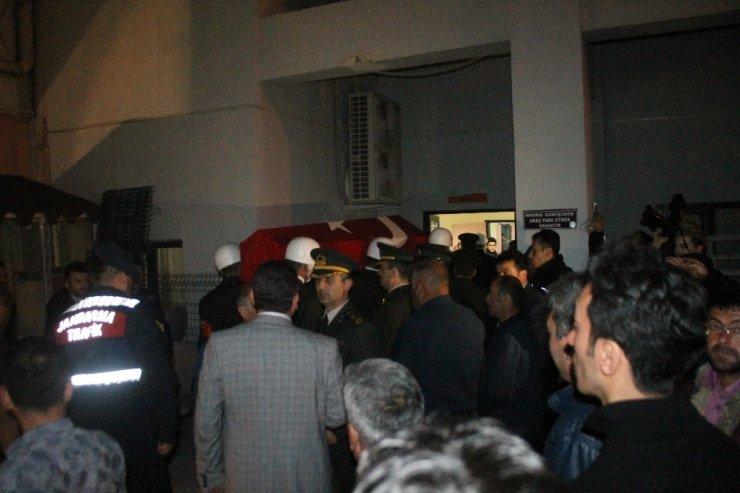 Şehidin cenazesi Çankırı'da