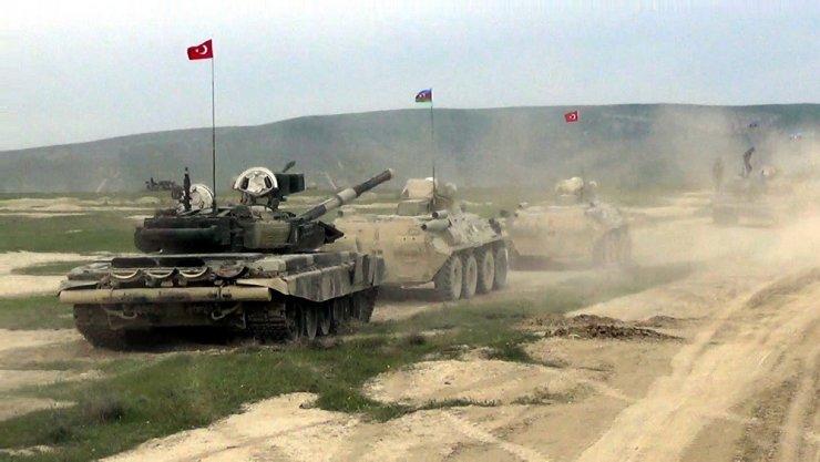 Türkiye ve Azerbaycan'ın ortak askeri tatbikatı başladı