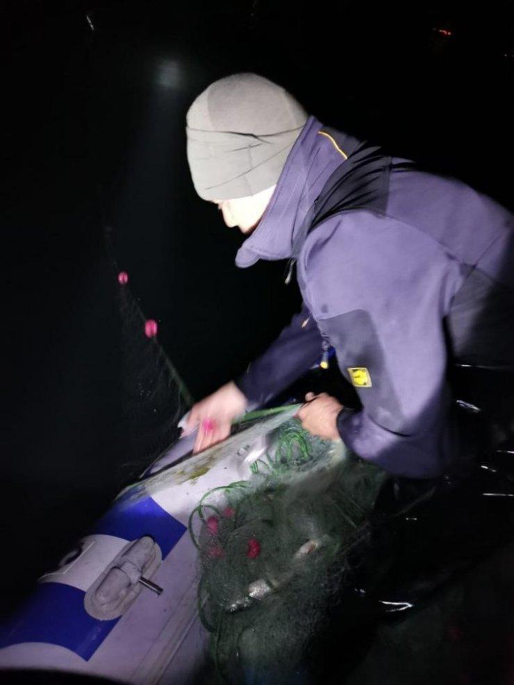 Jandarma ekipleri gece gündüz balık nöbetinde