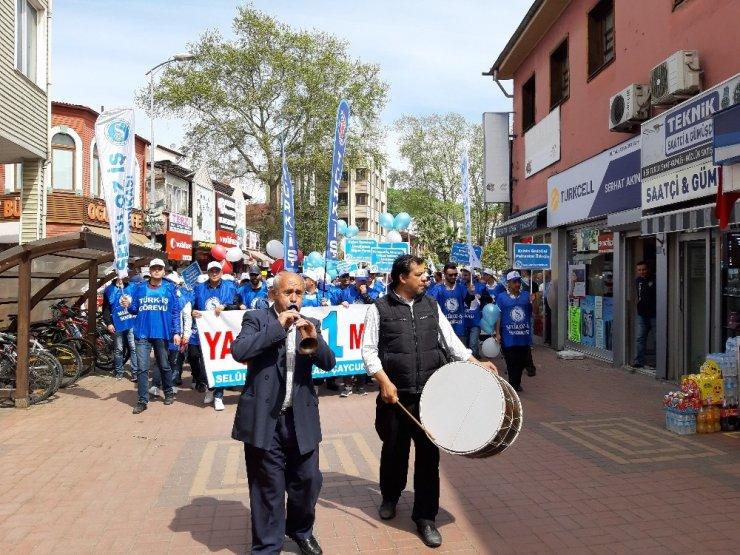 Çaycuma 'da 1 Mayıs Emek ve Dayanışma Günü