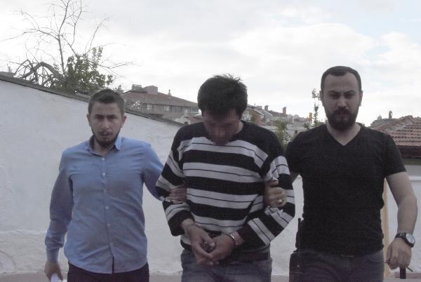 Konya'da camilerden musluk çalan hırsız sonunda yakayı ele verdi!