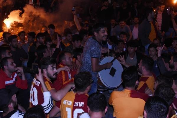 Konya'daki şampiyonluk kutlamasında gerginlik