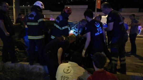 Kahramanmaraş'ta kaza: 2'si ağır 7 yaralı