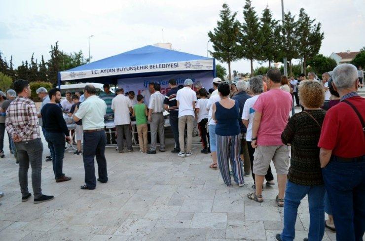 Büyükşehir ve Didim Belediyesinden ortak iftar yemeği
