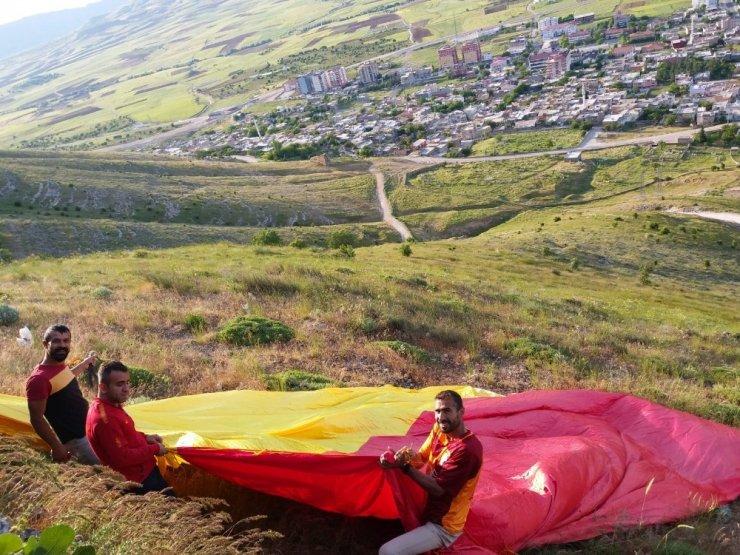 Gercüş'te Galatasaray aşkı dağlarda