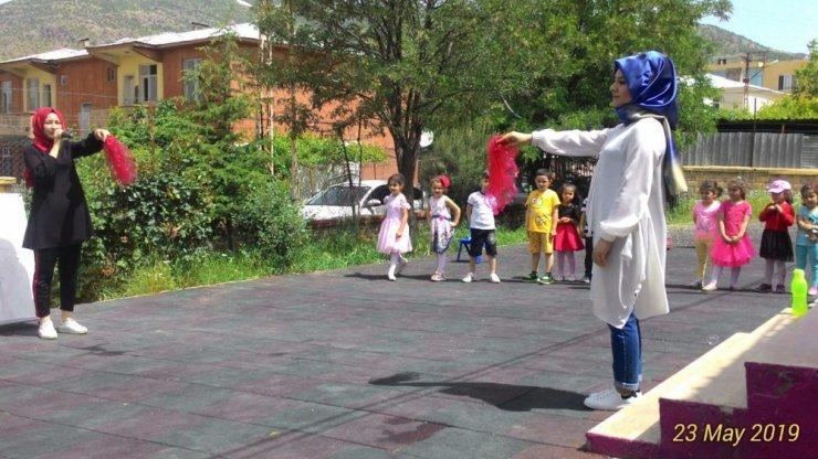 Sason'da 'okul dışarıda günü' etkinliği
