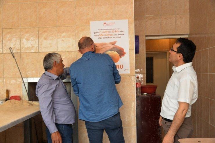 Kayseri'de Ekmek İsraf Edilmeyecek