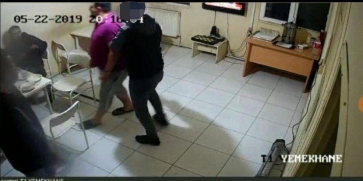 Giresun'da Gri listedeki teröristin yakalanma anı güvenlik kameralarına böyle yansıdı