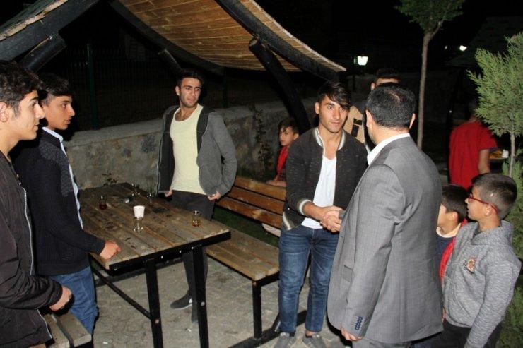 Kaymakam Türkman'dan esnaf ve vatandaş ziyareti