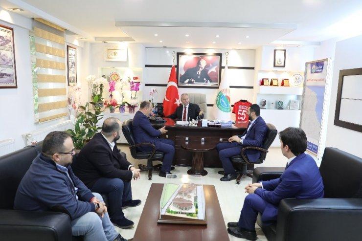 """Başkan Demirtaş: """"İş adamları çok önemli"""""""