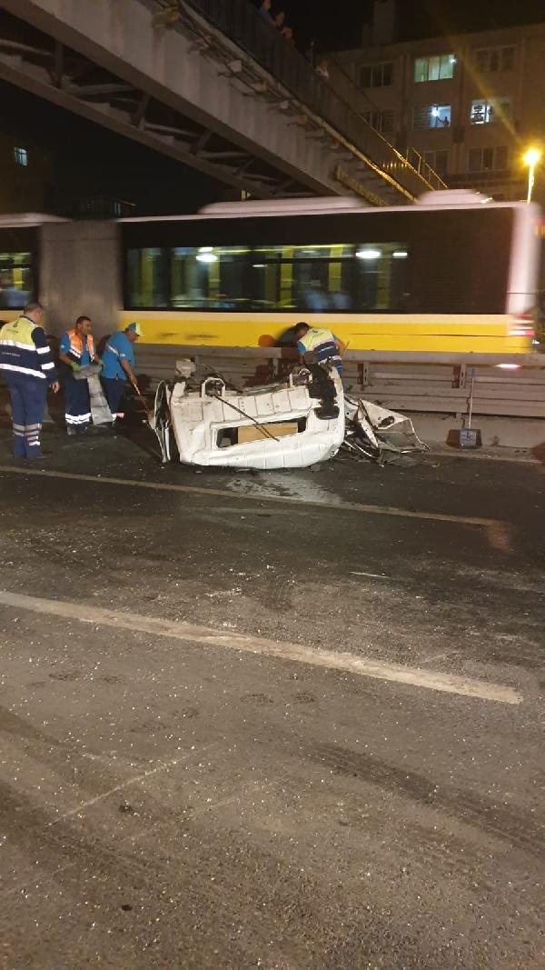 Dizi seti için çalışan kamyonetin sürücüsü öldü