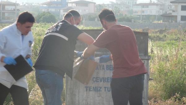 Çöp konteynerinden yeni doğmuş kız bebek cesedi çıktı