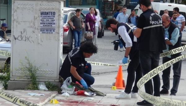 Eşinin tüfekle yaraladığı kadını, çelik tencere kurtardı