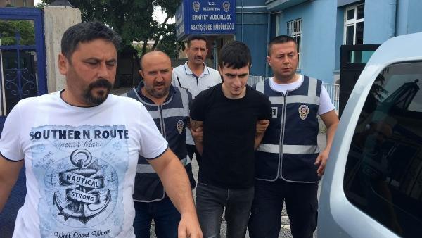 Konya'daki zanlı kesinleşmiş hapis cezasısıyla aranıyordu...Kampüs minibüsünde yakalandı!