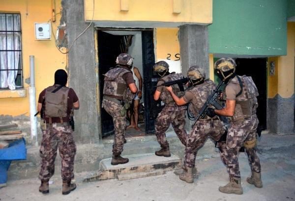 Terör operasyonunda yakalanan 30 şüpheli HDP üyesi çıktı