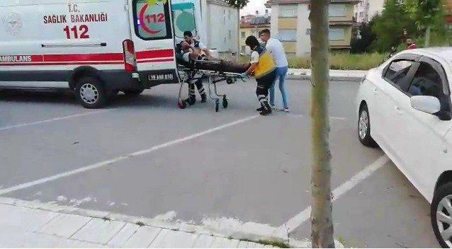 Çorum'da bıçaklı kavga: 2 yaralı
