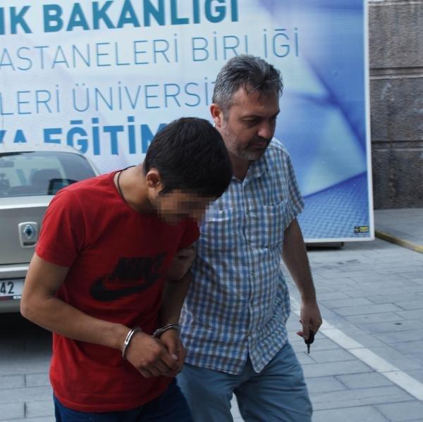 Konya'da üniversiteli kızlara cinsel tacizde bulundu!