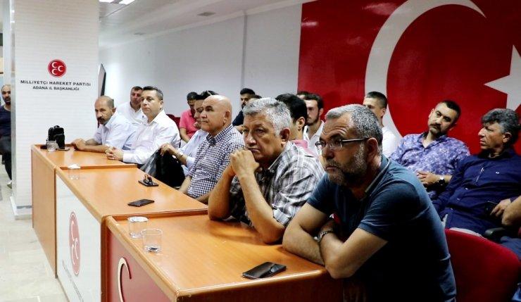 Adana Büyükşehir Belediyesi'nde işten çıkarılan işçiler haklarını istiyor