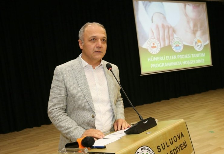 Suluova Belediyesinden gönül belediyeciliği örneği: 'Hünerli Eller'