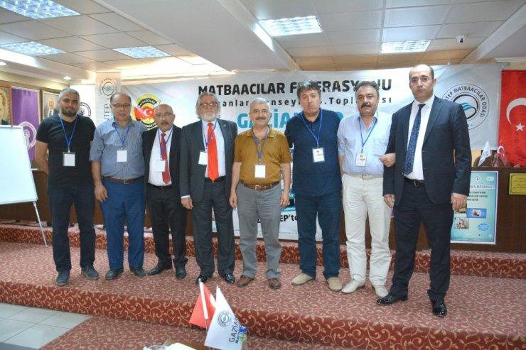 Başkan Karaca, Matbaacılar Federasyonu Başkanlar Konseyi'nde konuştu