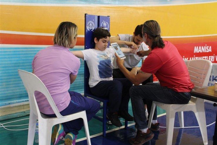 Manisa'da 14 bin 780 öğrenci yetenek taramasından geçti