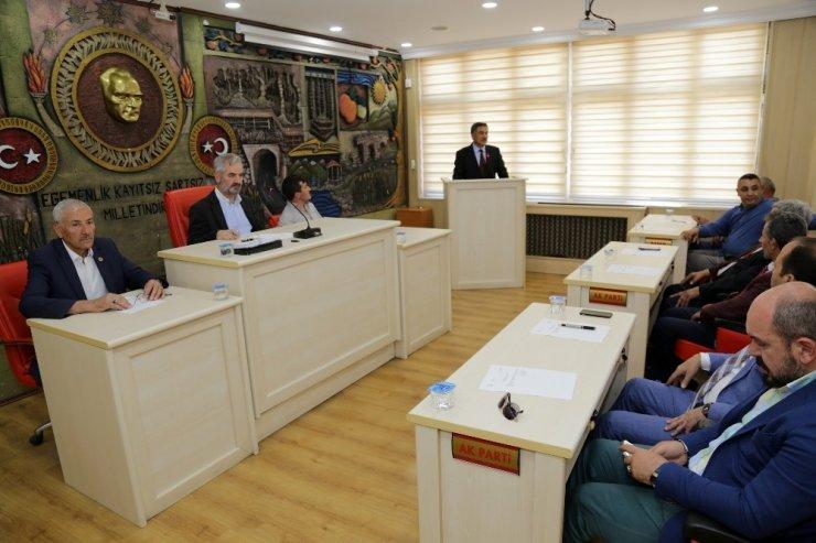 İl Genel Meclisi'nin temmuz ayındaki ilk gündemi eğitim oldu