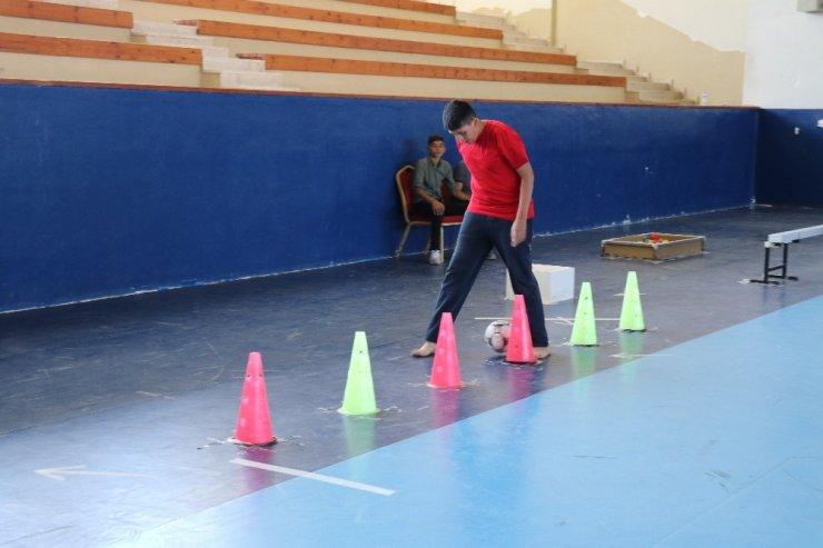 Salon sıkıntısı yaşayan Malatya Spor Lisesi yetenek sınavıyla öğrencilerini belirliyor