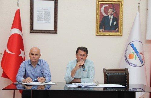 Samandağ Belediyesi'nden tarım istişare toplantısı