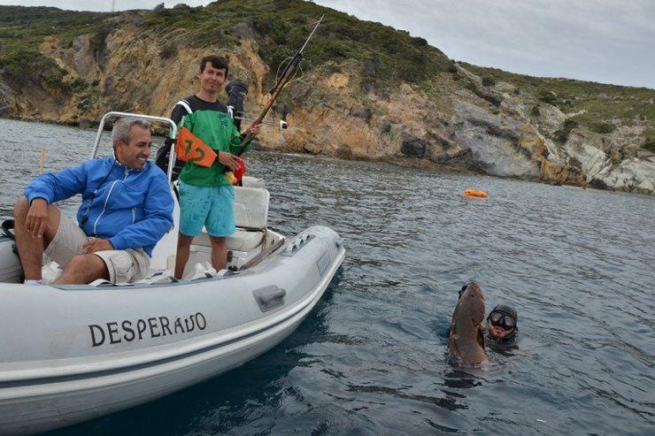 Zıpkınla Balık Avı Türkiye Şampiyonası Tekirdağ'da başlıyor