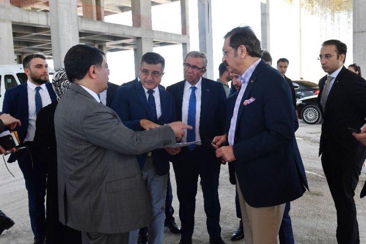 Ankara Uluslararası Fuar Alanı inşaatı tam gaz devam ediyor