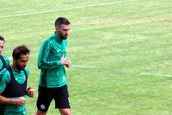 Bajic yeniden Konyaspor'da olmaktan mutlu