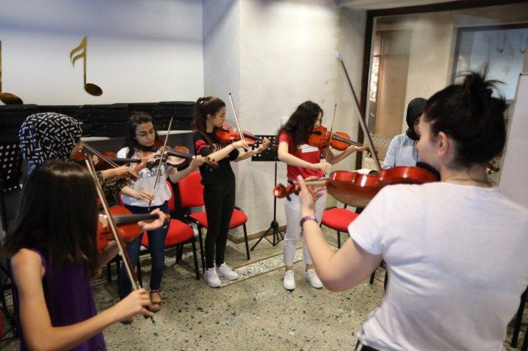 Çocuk Sanat Merkezi yaz kurslarına yoğun ilgi